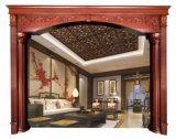 装飾フレームの内部ドアのWindows木鋳造物(GSP17-006)