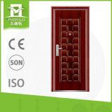 Puertas de acero baratas modernas del hierro labrado de la seguridad para el hogar