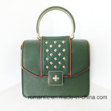 De in het groot Handtassen van de Vrouwen Pu van de Ontwerper met Klinknagels (nmdk-00383)