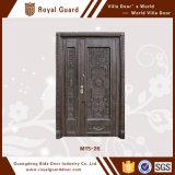 Puerta de cristal del marco de aluminio/puerta de oscilación de cristal del marco de aluminio/precio de cristal de aluminio de la puerta