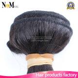 Оплетка человеческих волос прямых волос девственницы Unprocessed бразильская