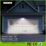 Luz al aire libre solar impermeable del sensor de movimiento del LED con con./desc. auto activada movimiento para la cubierta, puerta principal, patio, patio trasero, jardín, luz solar