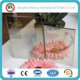 glace r3fléchissante en verre de 4-8mm/argent r3fléchissant clair