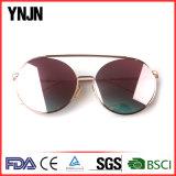 Ynjn om Unisex-OEM van het Metaal UV400 Zonnebril