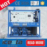 Fabricante rachado da câmara de ar do gelo 15t/24hrs do projeto novo com compressor de Bitzer