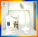 Lámpara de vector recargable moderna flexible casera de China LED