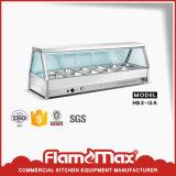 Baño maría de la comida fría de la cacerola del acero inoxidable 2 (caliente) (HMT-900HB)
