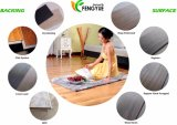 Plancher lustré élevé de PVC de cliquetis de bord conique