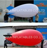 Piccoli dirigibili di pubblicità gonfiabili dell'elio colore bianco caldo di vendita di grande
