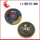 民芸様式および記念品の使用のワシの翼の記念する硬貨