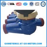 Измеритель прокачки воды Dn40 чугуна материальный в соединении резьбы или фланца