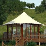 عالية الجودة خيمة في الهواء الطلق للتخييم مع أكشاك