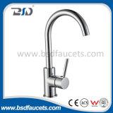 Faucet de bronze da cozinha da torneira de misturador de Washbowl do banheiro do Faucet da bacia do cromo