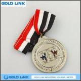 아연 합금 메달 주문 도전 동전 Taekwondo 메달 스포츠 포상