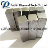 Segment de meulage concret de diamant d'obligation en métal de forme de flèche pour l'étage