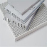 El panel de emparedado de aluminio del panal para las fachadas y las azoteas (HR163) del revestimiento de la pared