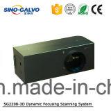 Pista dinámica aprobada del Galvo de Ce/RoHS Sg2208-3D Foucs con el surtidor profesional