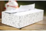 Коробка упаковки ткани Handmade бумаги OEM цветастая