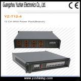 Bloco de potência da canaleta 4kw da luz 12 do diodo emissor de luz do estágio