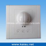Квадратный тип спрятанный стеной переключатель датчика движения микроволны держателя