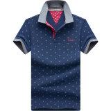Рубашки лета способа рубашек пола нашивки людей OEM покрашенные пряжей