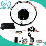 [500و] سوداء عجلة محرّك كهربائيّة درّاجة عدة مع [س]