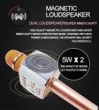 Drahtloses Karaoke-Mikrofon beweglicher HandBluetooth Lautsprecher