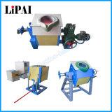 De middelgrote Smeltende Machine van de Inductie van het Koper van de Frequentie 100kg voor het Afgietsel van de Buis