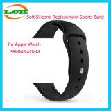 Мягкая полоса спортов замены силикона для вахты Iwatch 38mm&42mm Apple