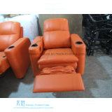 Modernes ledernes elektrisches Recliner-Sofa für Heimkino (DW-01S)