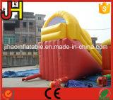 Glissière d'eau gonflable en usine pour jeu en plein air