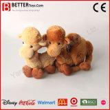 Vulde het Zachte Speelgoed van de Gift van de bevordering het Dierlijke Stuk speelgoed van de Kameel van de Pluche voor Jonge geitjes
