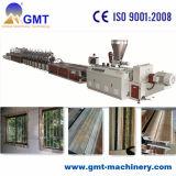 Extrusion en Plastique de Produit de Tuile de Marbre Artificielle de PVC Faisant la Ligne de Machine