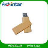 USB 2.0 지팡이 Thumbdrive 목제 회전대 USB 섬광 드라이브
