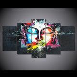 HD ha stampato la pittura del Buddha sulla tela di canapa Mc-039 della maschera del manifesto della stampa della decorazione della stanza della tela di canapa