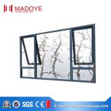 Алюминиевые Австралии стандартные водоустойчивые Опрокидывать-Поворачивают окно для старшей резиденции