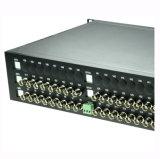 32チャネルのビデオ+1逆RS485データ光学ビデオトランシーバ