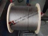 AISI304ステンレス鋼ワイヤーロープ