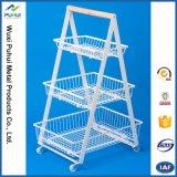 5 Schicht-Fußboden-stehender Metallmasse-Ausstellungsstand (pH15-567)
