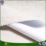 Tissu de toile de rideau d'arrêt total en polyester ignifuge imperméable à l'eau de mélange