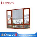 Ausgeglichenes Galss Aluminiumflügelfenster-Fenster für Duluxe Haus