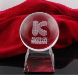 Kristallglas-Würfel-Trophäe für Basketball