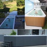 Super Popular Endless Swimming Pool with Jacuzzi SPA for Market