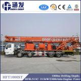 Hft1000st経済的で、最も実用的なトラックのタイプ井戸の掘削装置