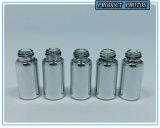 mini frasco de vidro de galvanização de prata do conta-gotas do tubo de ensaio 5ml para o petróleo essencial