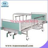 Cama de hospital manual de la mejor de la calidad función del ABS dos