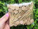 Skewer/vara/picareta de bambu naturais da fruta de Eco (BC-BS1066)