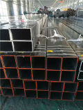 ASTM A500 Gr. 기름 표면을%s 가진 까만 강철 관 사각