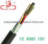 Câble de fibre optique de GYTS/câble d'ordinateur/câble de caractéristiques/câble de transmission/câble/connecteur sonores