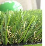 Herbe artificielle de jardin de gazon faux bon marché d'aperçu gratuit de 4 couleurs